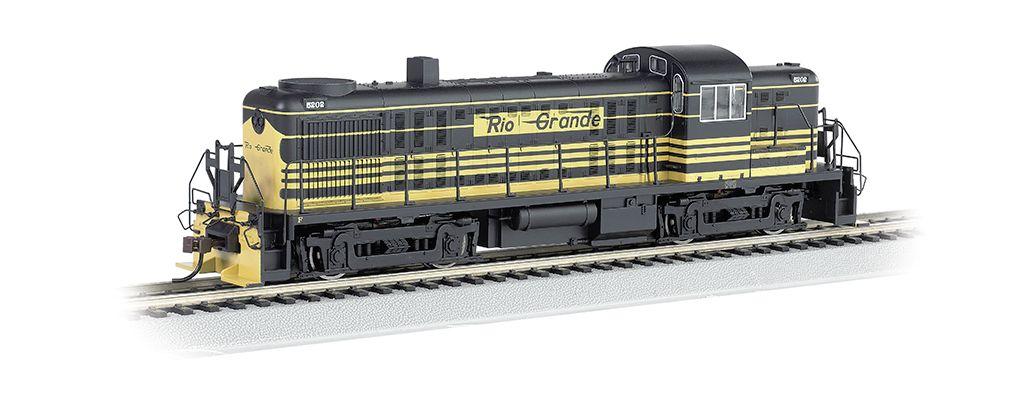 Rio Grande™ #5202 - RS-3 - E-Z App™ Train Control (HO Scale)