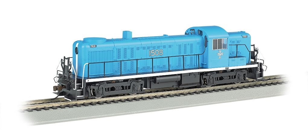 Boston & Maine #1508 – McGINNIS - RS-3 - E-Z App™ Train Control (HO Scale)