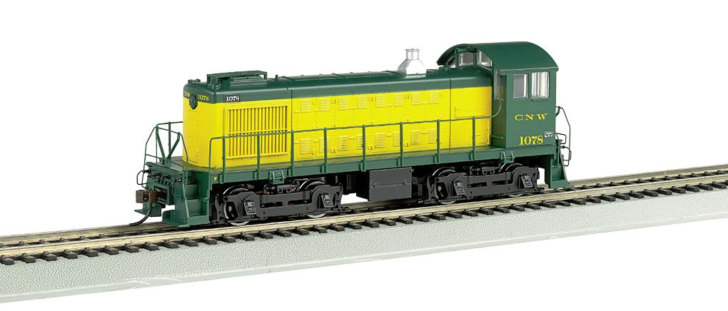 C&NW™ #1078 - ALCO S4 - DCC Sound Value (HO Scale)