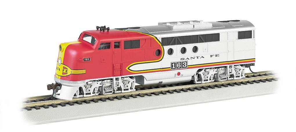 Santa Fe #163 (Warbonnet) - FT A-Unit - E-Z App™ Train Control (HO Scale)