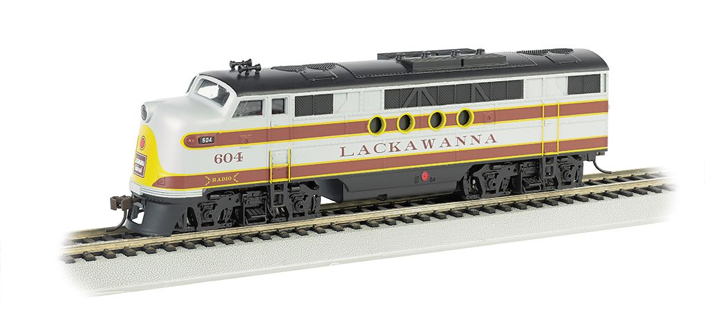 Lackawanna #604 - FT A-Unit - E-Z App™ Train Control (HO Scale)