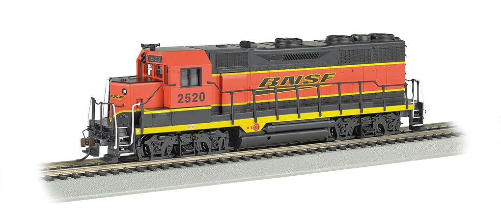 BNSF #2520 - GP35 - E-Z App™ Train Control (HO Scale)