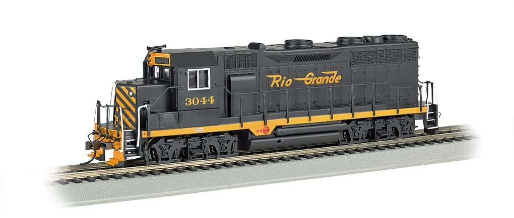 Rio Grande™ #3044 - GP35 - E-Z App™ Train Control (HO Scale)