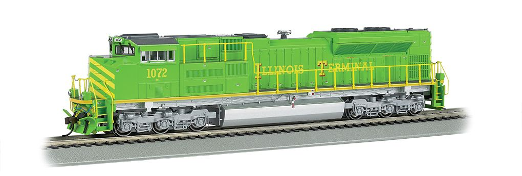 Illinois Terminal - NS Heritage - SD70ACe - DCC Sound Value (HO)