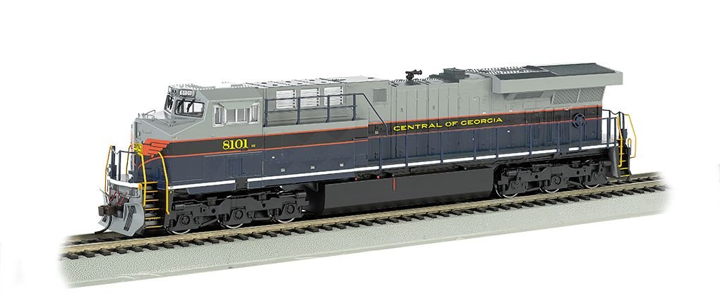 Central Of Georgia - NS Heritage-GE ES44AC-DCC Sound Value (HO)