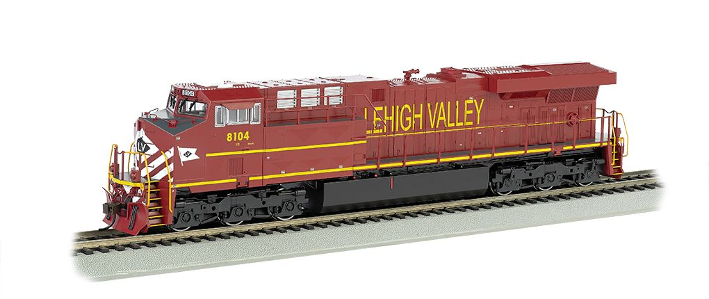 Lehigh Valley - NS Heritage - GE ES44AC - DCC Sound Value (HO)