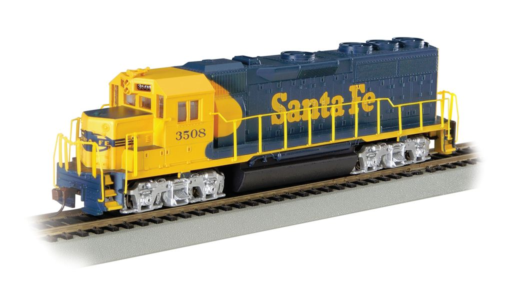 Santa Fe #3508 (Blue & Yellow) - GP40 - DCC ( HO Scale )