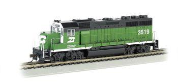 Burlington Northern #3519 - GP40 (HO Scale)