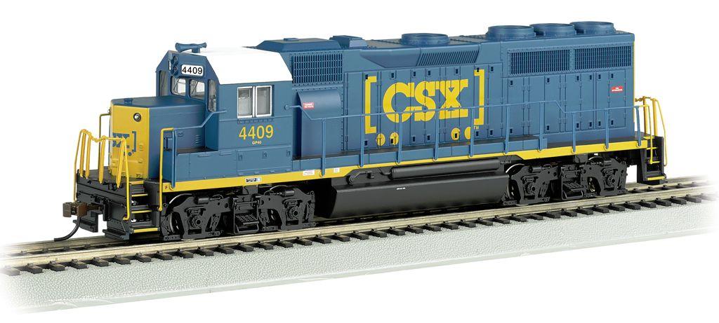 CSX® #4409 (Dark Future) - GP40 (HO Scale)