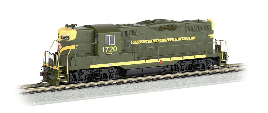 Canadian National #1720 w/ dynamic brakes - GP9 - DCC (HO Scale)