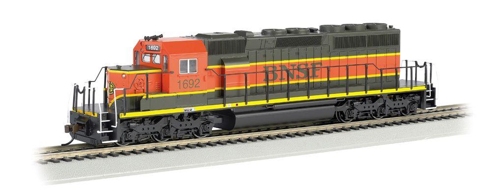 BNSF #1734 - Heritage III SD40-2 - DCC (HO Scale)