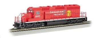 CP Rail #5612 (Dual Flags)- SD40-2 - DCC Sound Value (HO Scale)