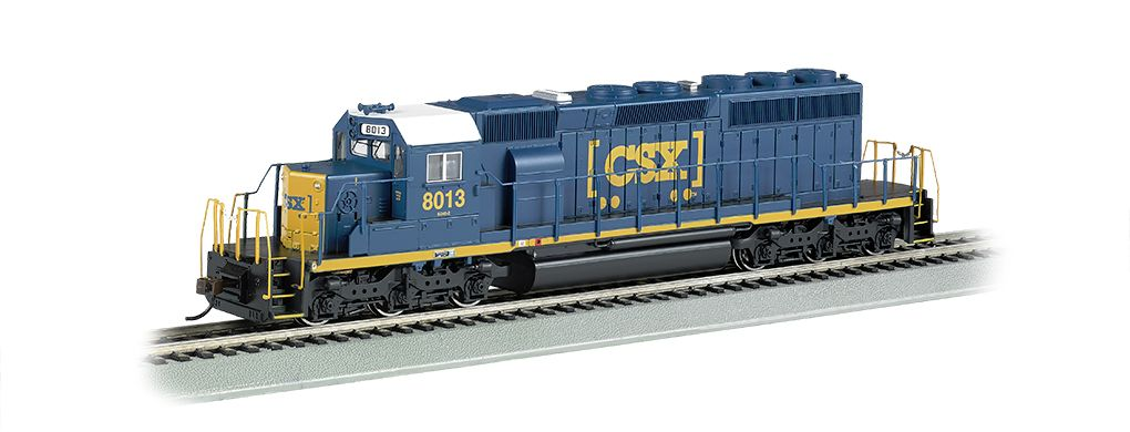 CSX®#8013 (HTM®) - SD40-2 - DCC Sound Value (HO Scale)