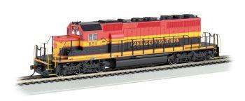 Kansas City Southern #651 SD40-2 - DCC Sound Value (HO Scale)