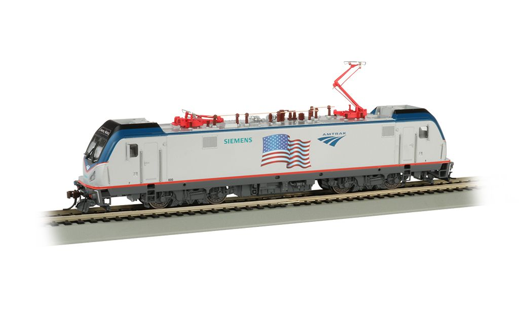 Amtrak Demonstrator (Flag) - Siemens ACS-64 - DCC Sound (HO Scale)