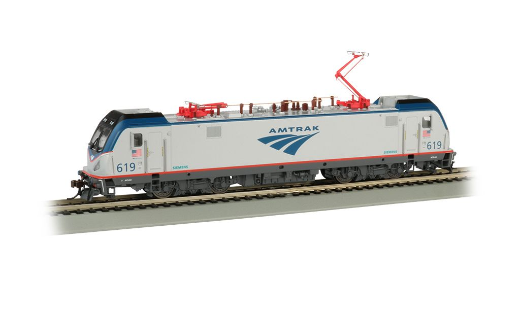 Amtrak #619 - Siemens ACS-64 - DCC Sound (HO Scale)
