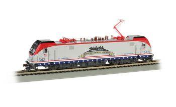 Amtrak #642 Salutes our Veterans - Siemens ACS-64 - DCC Sound (HO Scale)