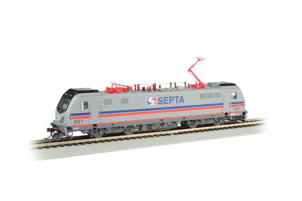 SEPTA 901 - Siemens ACS-64 - DCC Sound (HO Scale)