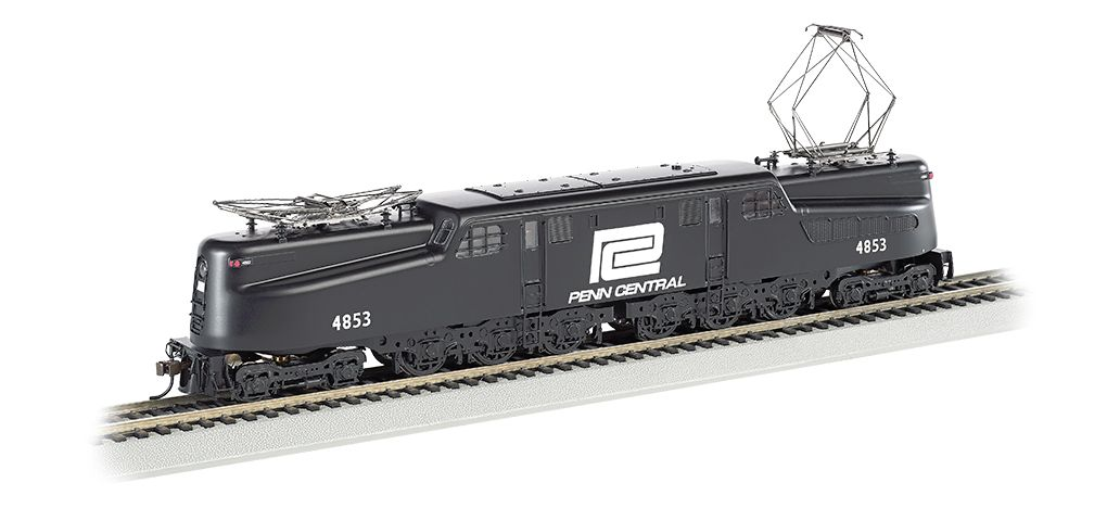Penn Central Blk w/ Wht Lettering #4853-DCC Sound Value  GG1 (HO Scale)