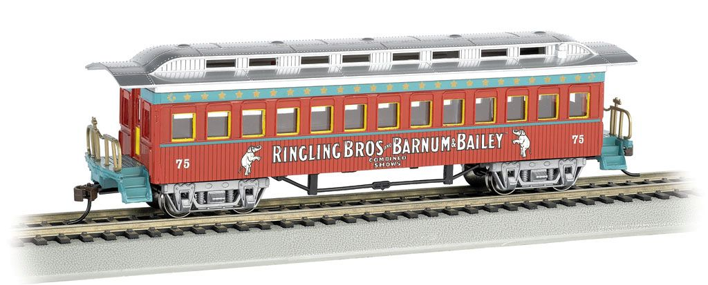 Ringling Bros. & Barnum & Bailey - Coach #75 (HO Scale)