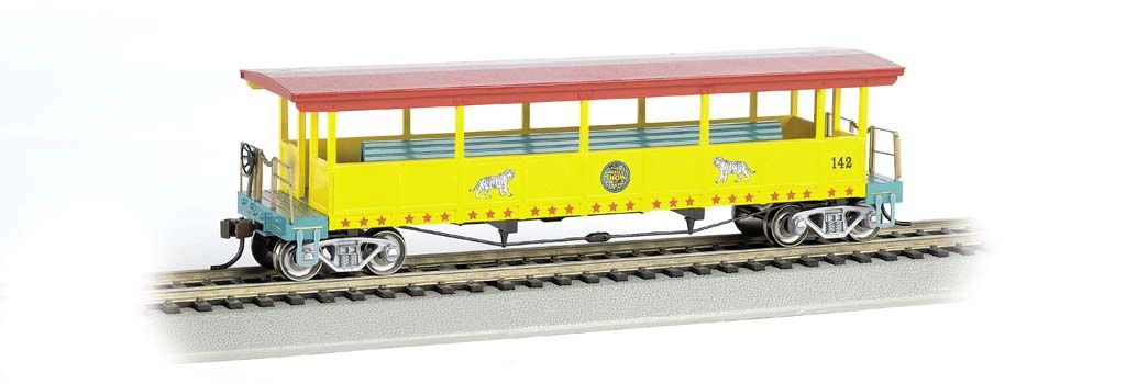Ringling Bros. & Barnum & Bailey-Open-Sided Excursion Car (HO)