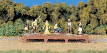 HO Old West Figures