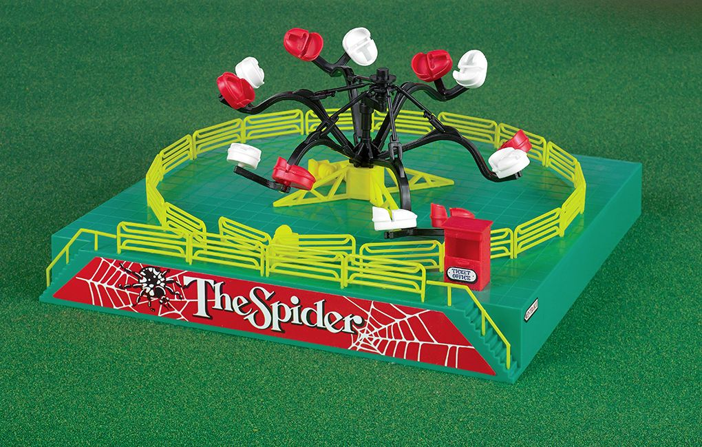 Operating Spider Carnival Ride Kit (HO Scale)