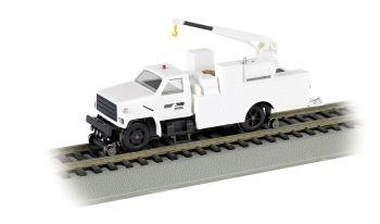 Norfolk Southern - Hi-rail Equipment Truck w/ crane - DCC (HO)