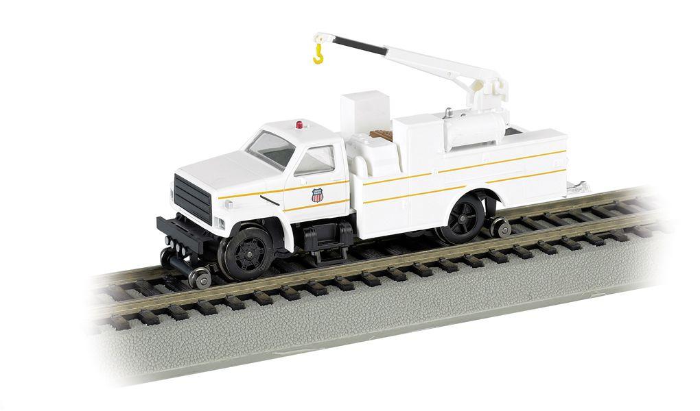 Union Pacific® - Hi-rail Equipment Truck w/ crane - DCC (HO)