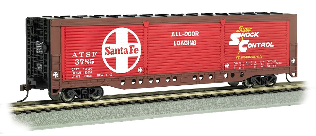 Santa Fe #3785 - Evans All-Door Box Car (HO Scale)