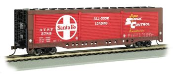 Santa Fe #3785 - Evans All-Door Box Car (HO Scale)