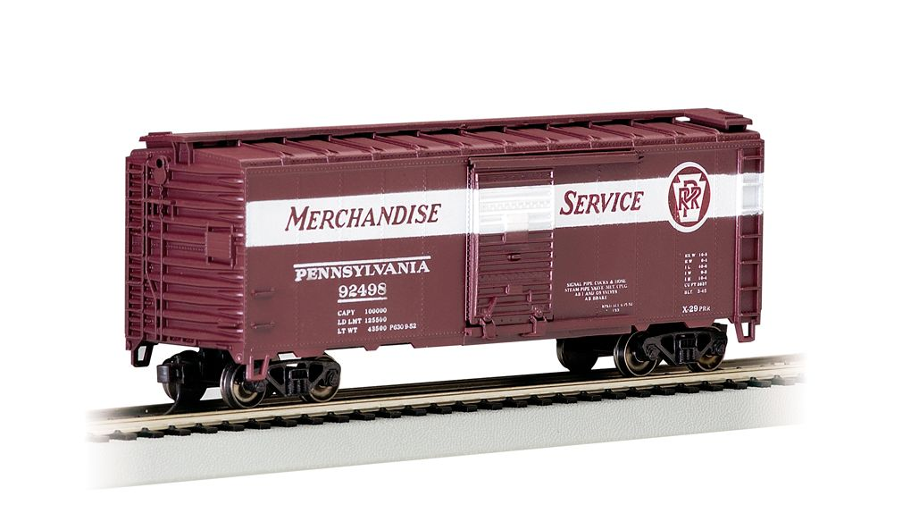 PRR Merchandise Service - 40' Box Car (HO Scale)