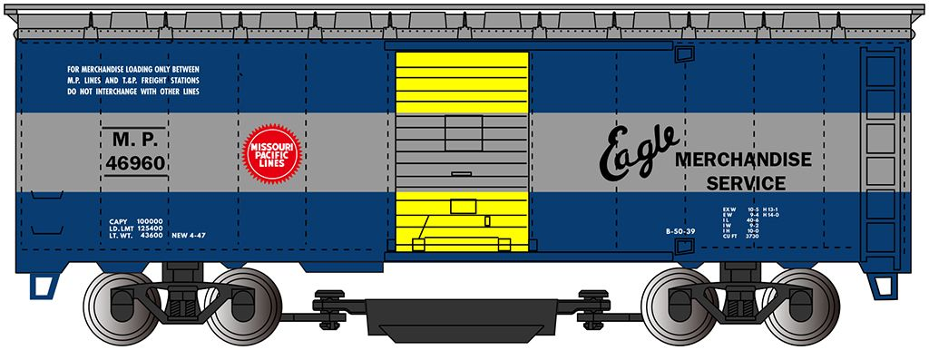 Missouri Pacific™ - Track Cleaning Car