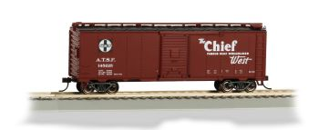 Chief 40' Santa Fe Map Box Car (HO Scale)