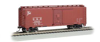Delaware & Hudson - Steam Era 40' Box Car (HO Scale)