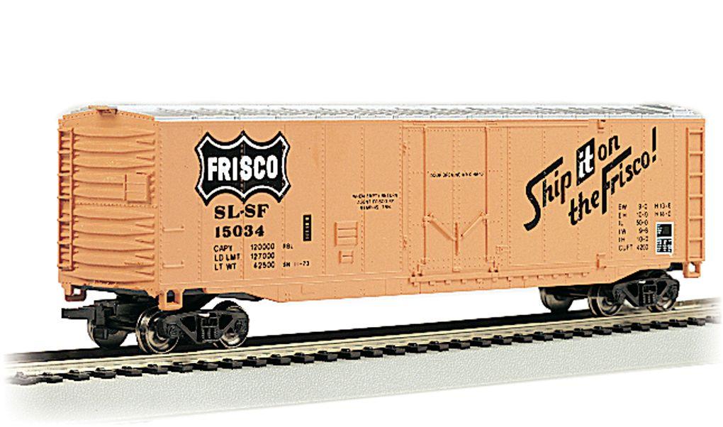 Frisco - 50' Plug Door Box Car (HO Scale)