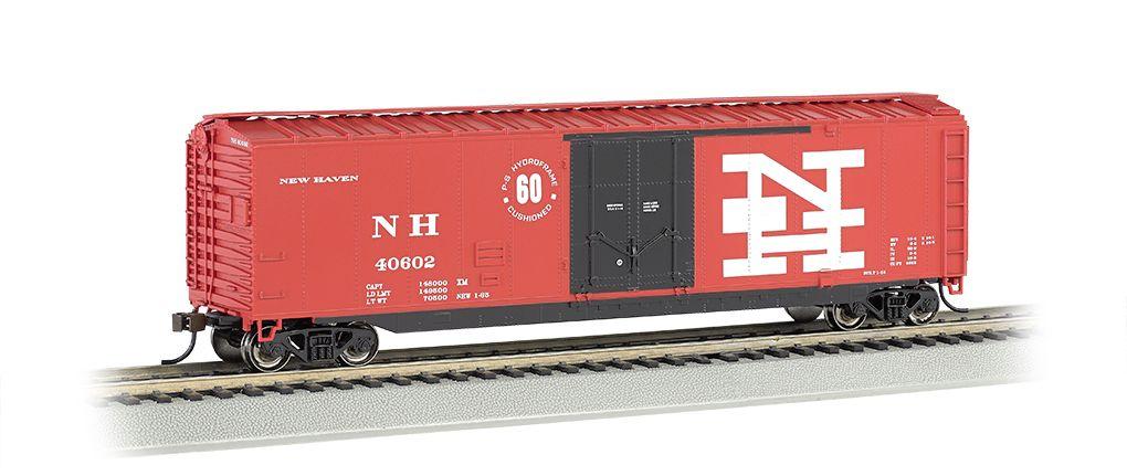 New Haven - 50' Plug Door Box Car (HO Scale)