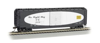 Central of Georgia(football scheme)-50' Sliding Door Box Car(HO Scale)