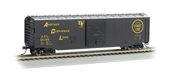 Atlantic Coast Line - 50' Sliding Door Box Car (HO Scale)