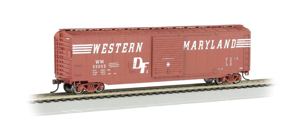 WM® (Speed Lettering) - 50' Sliding Door Box Car (HO Scale)