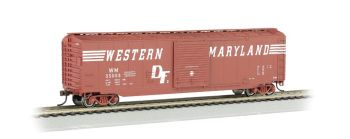 WM (Speed Lettering) - 50' Sliding Door Box Car (HO Scale)