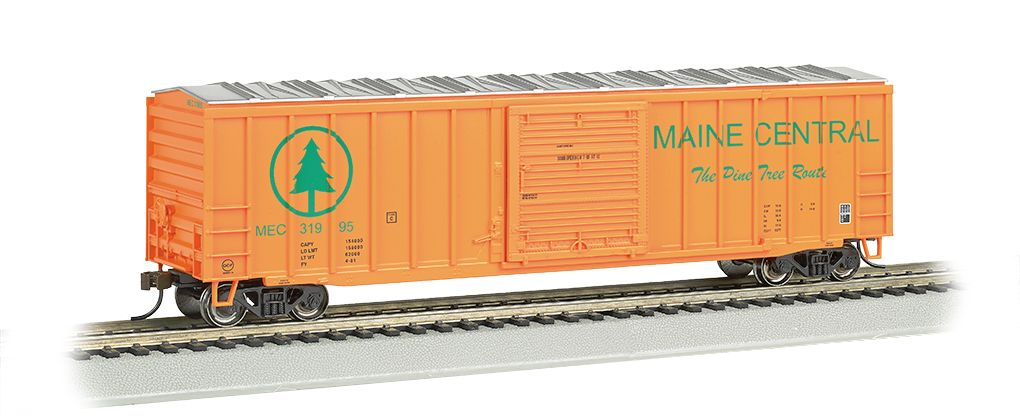 Maine Central - ACF 50.5' Outside Braced Box Car (HO Scale)
