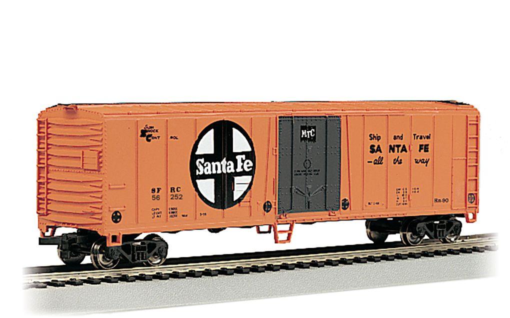 Santa Fe #56252 - 50' Steel Reefer (HO Scale)