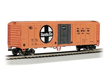 Santa Fe #56252 - 50' Steel Reefer (HO Scale)