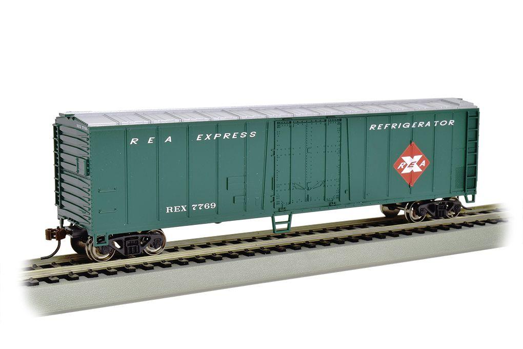 Railway Express - 50' Steel Reefer (HO Scale)