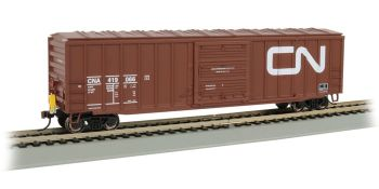 50' Outside Braced Box Car with FRED - Canadian National