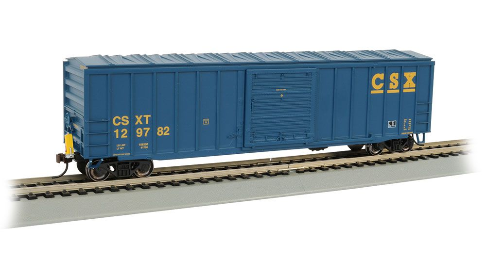 50' Outside Braced Box Car with FRED - CSX®