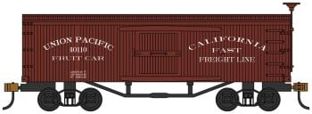 Union Pacific Fruit Car - Old-time Box Car