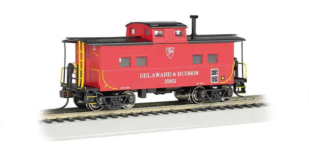 Delaware & Hudson - NE Steel Caboose (HO Scale)