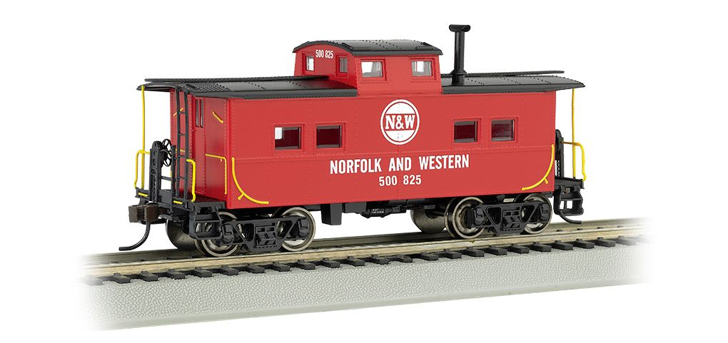Norfolk & Western - Red #500 825 - NE Steel Caboose